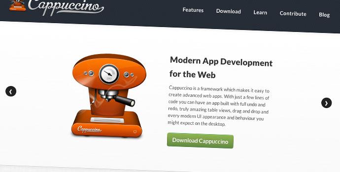 Cappuccino-framework-MVC-per-cerare-applicazioni-web
