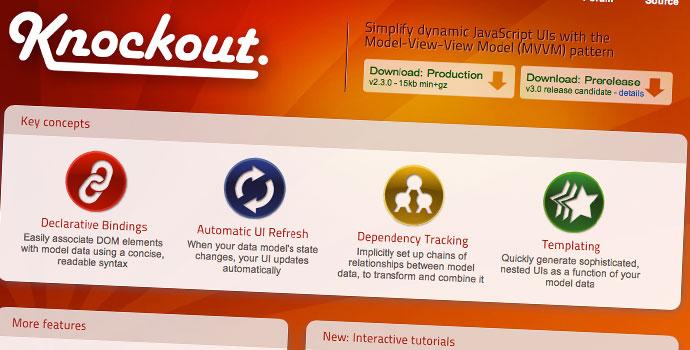 Knockout-framework-MVC-per-cerare-applicazioni-web