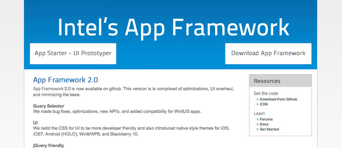 Mobile-app-framwework-by-Intel
