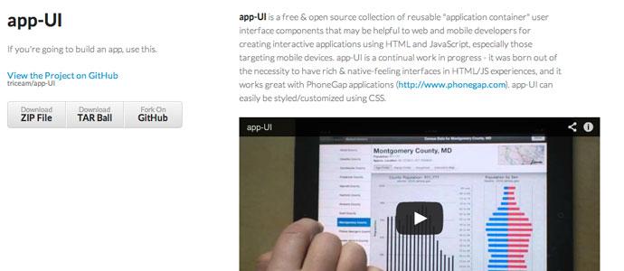 app-ui-mobile-app-framework