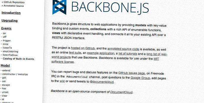 backbone-framework-MVC-per-cerare-applicazioni-web