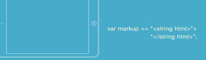 html-mobile-app-markup-concatenazione-stringhe