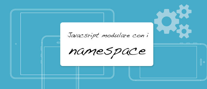 come creare un app - i namespace