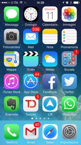 aggiornamenti mobile app